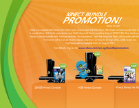 Xbox Kinect Bundle Promotion