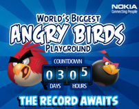 Nokia Angry Birds Takeover