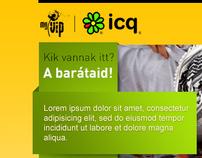 myVIP.com - ICQ campaign