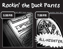 "Graphic Novel: ""Rockin' the Duck Pants"""