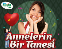 "Pınar ""Annelerin Bir Tanesi"" Happy Mother's Day app"