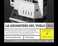 La Geometría del vuelo ( memoria exposición)