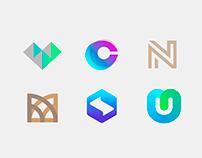Letters exploration - concept