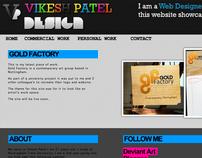 VP Design - Portfolio website