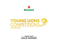 Young Lions Costa Rica 2017 - Print - Gold Winner