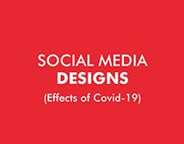 Social Media Designs - Covid-19