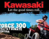 Brute Force 300 - Kawasaki
