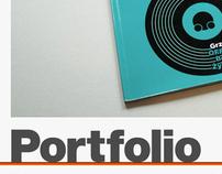 Portfolio homepage 2012