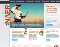 NAER Association Site Design
