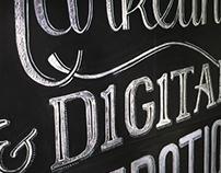 Chalkboard - Lettering