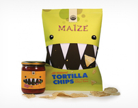 Maize Tortilla Chips & Salsa