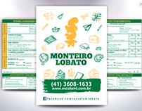 Flyer 2016 - Escola Monteiro Lobato