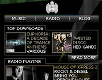 Ministry Of Sound: Mobile Application
