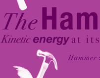 "Typography II - ""Winged Hammer"""
