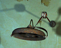 horror game » abandoned morgue set