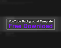 Youtube Background Template 2019 - Free Download (.PSD)