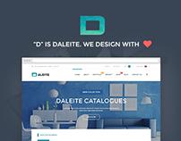 Daleite - Multipurpose PSD Template