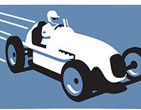 Sprint Car Hall Of Fame Logo