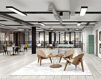 Black Bull Yard - Interior CGI