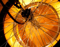 Refactored Bicycle Wheel Lamp