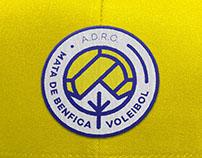 Voleibol Mata Benfica - Proposta Identidade Gráfica