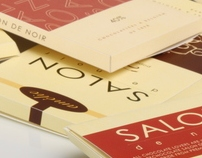 Salon de Noir Packaging