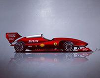 F1 CAR BODY DESIGN