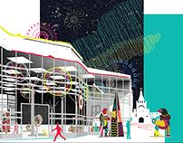 Проект организации новогоднего фестиваля в Туле