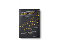 The Business Blockchain book design