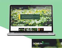 OCIMUM HERBS - Responsive web Layout
