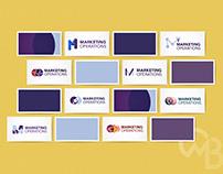 Internal Logo options for Marketing Operations