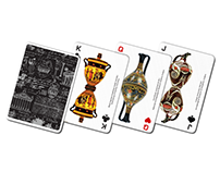 Ancient Greek Pottery - Playing Cards