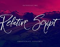 Relative Script [Free Font]