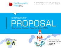 Free BSD Proposal Sponsorship Design