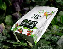 GORA coffee packaging