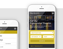 TRAVELOTI Website Design