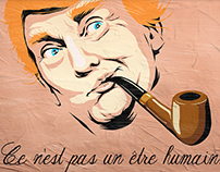 Trump X Magritte: The Surrealist Series
