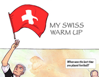 My Swiss Warm Up: Illustrations for a graphic novel