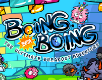 Game art for Boing Boing facebook game