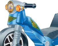 Tek Nek Toys - Folding Trike