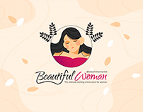Beautiful Woman | Logo