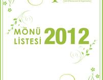 Organisation Menu Design /BILL:)