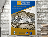 Athens Authentic Marathon 2016 Poster