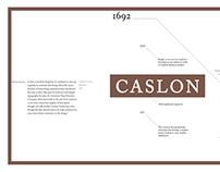 Caslon by Caslon