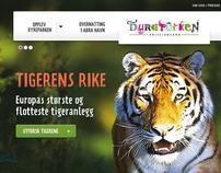 Dyreparken.no - front-page redesign