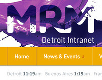 MRM Global Intranet