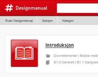 Ruter Online Designmanual