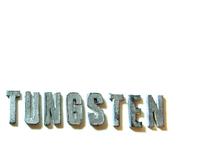 Tungsten Poster