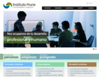 Instituto HUNE website