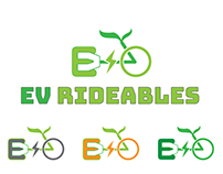 EV Rideables electric bikes logo